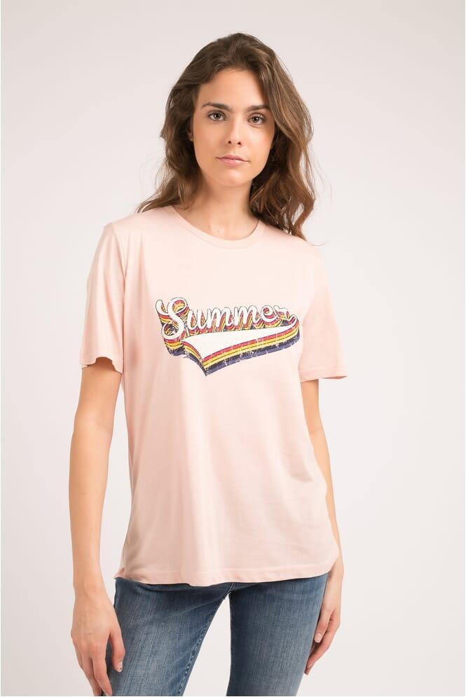Vila T shirt Valentina